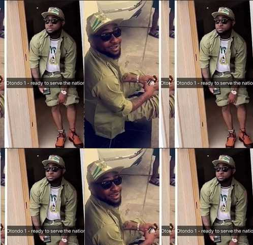 What Davido Told 'Corpers' At The Lagos NYSC Orientation Camp