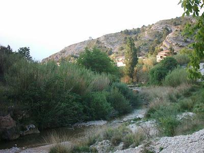 azud, assut, Matarraña, Matarranya, Beceite, Beseit, canyerets