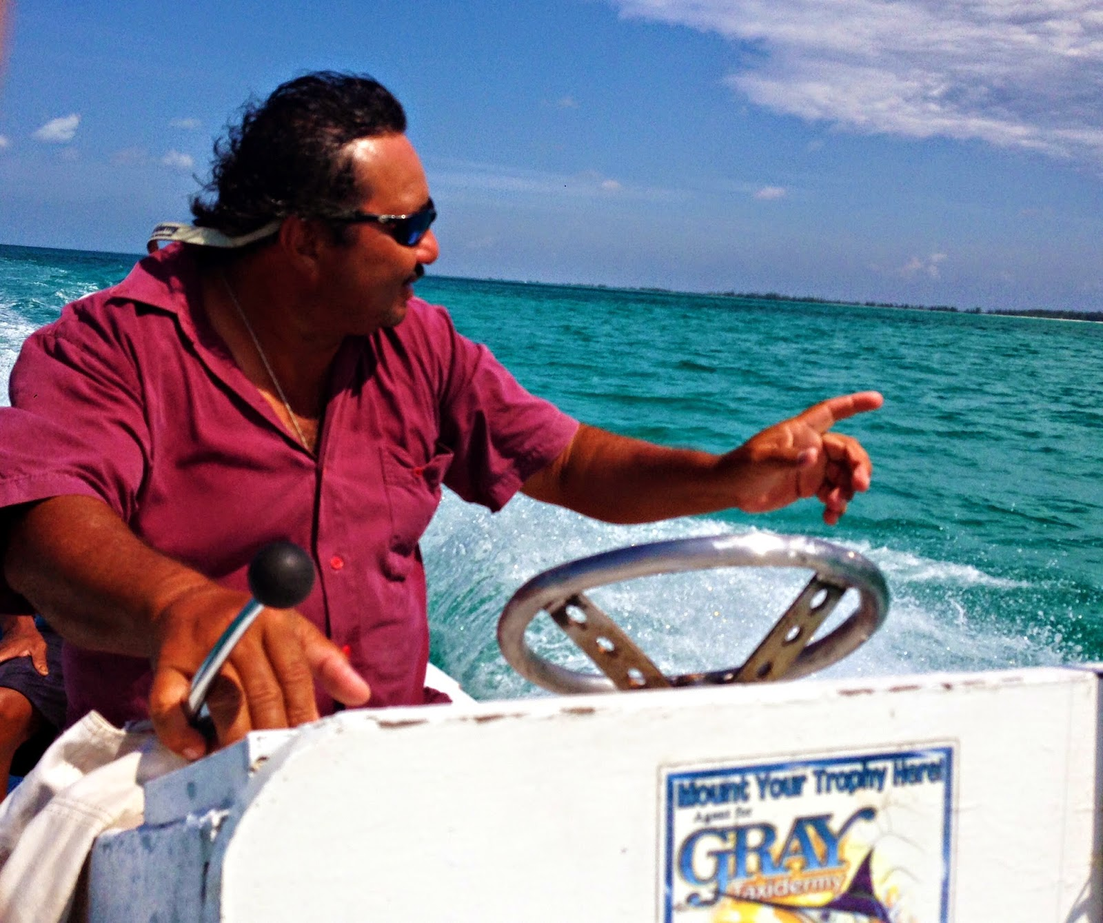 Life in motion annual spring trip and salt water fly for Fly fishing cozumel