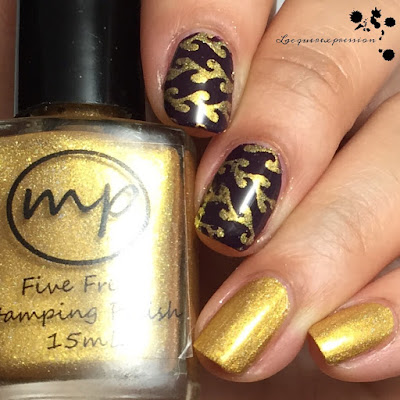 Nail polish swatch of Bells by M Polish