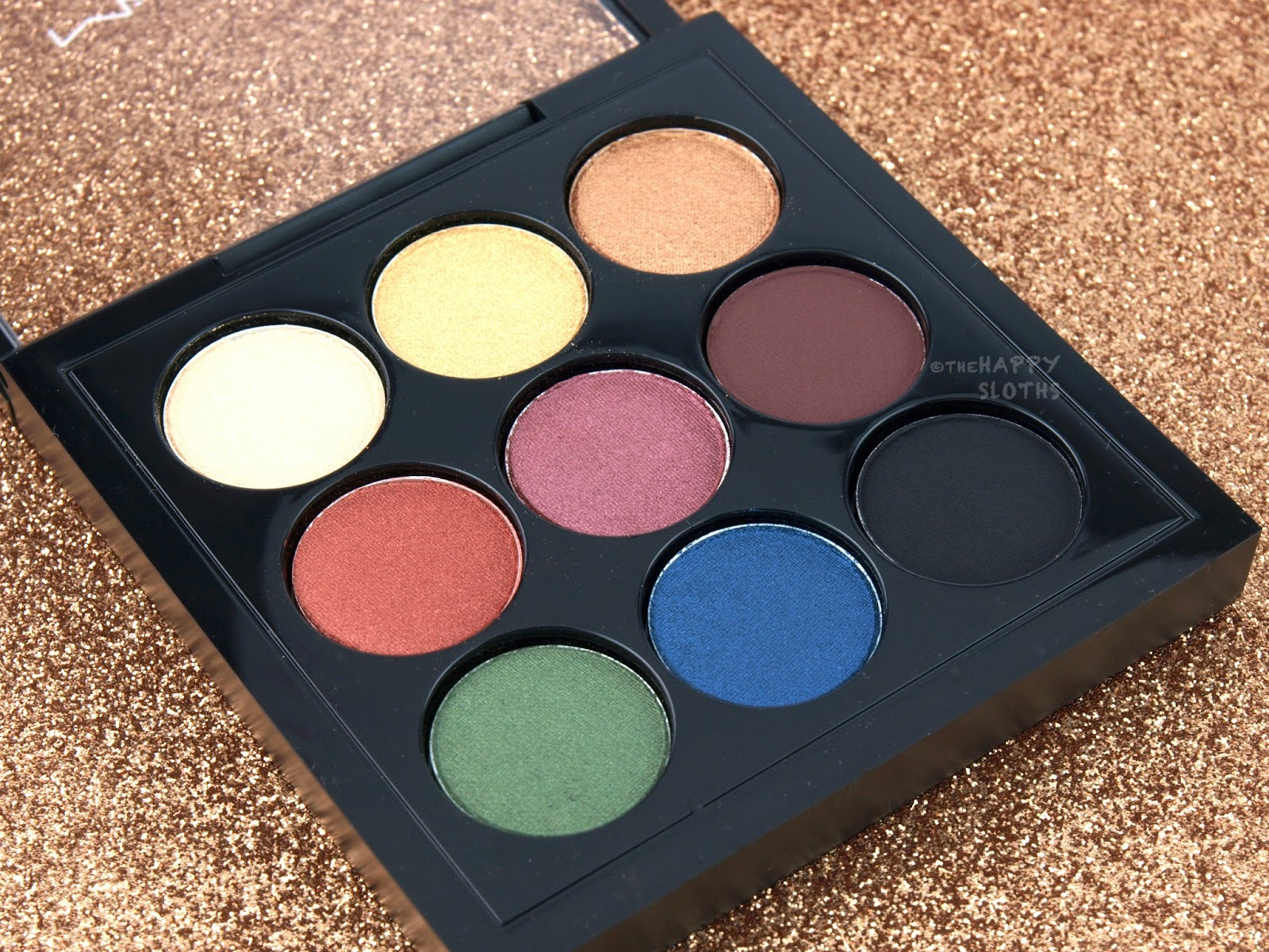 MAC Light Festival Eyeshadow X 9 Palette Review and Swatches