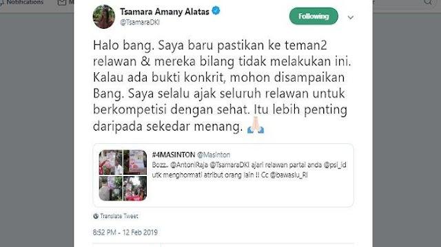 Dimarahi Masinton PDIP, Tsamara PSI Minta Bukti Konkret Tuduhan yang Dilayangkan Padanya