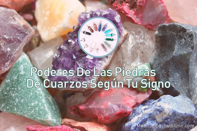 Descubre los poderes de las piedras de cuarzos según tu signo