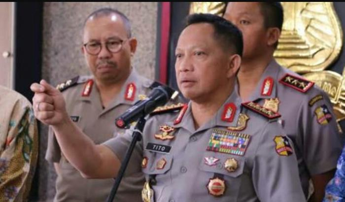 Kapolri Instruksikan Humas Kepolisian Jalin Kerjasama Dengan Media Online