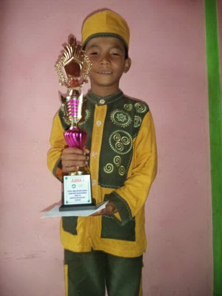Ariansyah Putra Juara FLS2N Se-Kabupaten Abdya