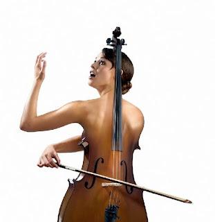arte digital ingenioso mujer y la musica