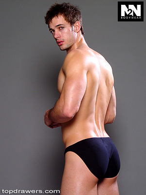 Hunksinspeedos: William Levy in blue speedos: And then he