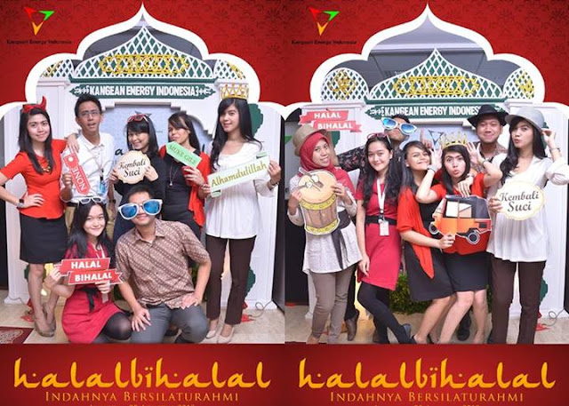 photo booth souvenir idul fitri