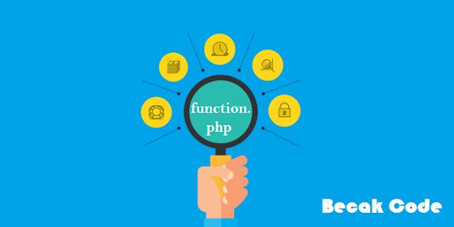 Penggunaan Function Pada PHP Yang Benar