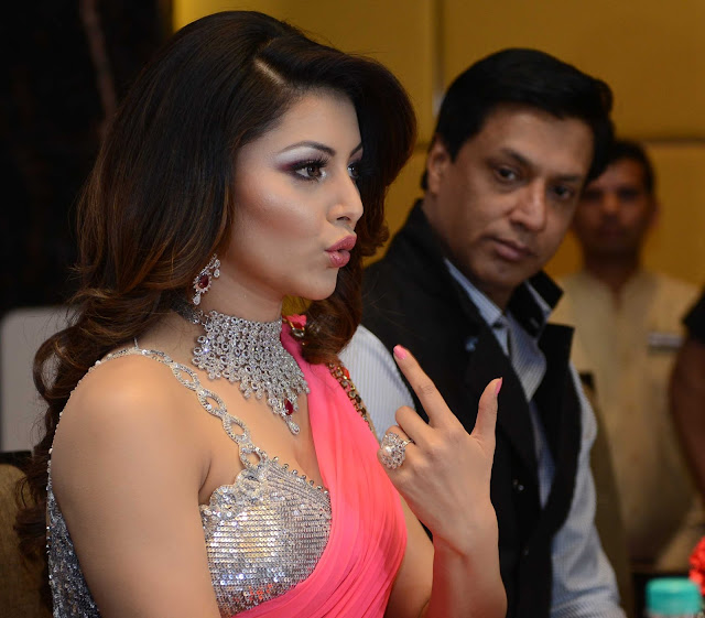 Actress Urvashi Rautela spotted wearing SLG Jewellery