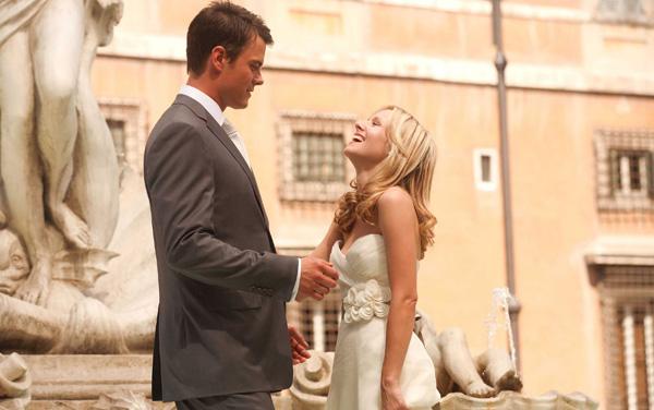 Josh Duhamel and Kristen Bell When in Rome Wedding