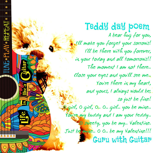 teddy_day_poem_valentine_quote_guru_with_guitar_vikrmn_austerity_chartered_accountant_ca_author_srishti_verma_tpr_lyrics