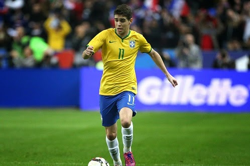 ​Liverpool and Juventus eye Chelsea's Oscar