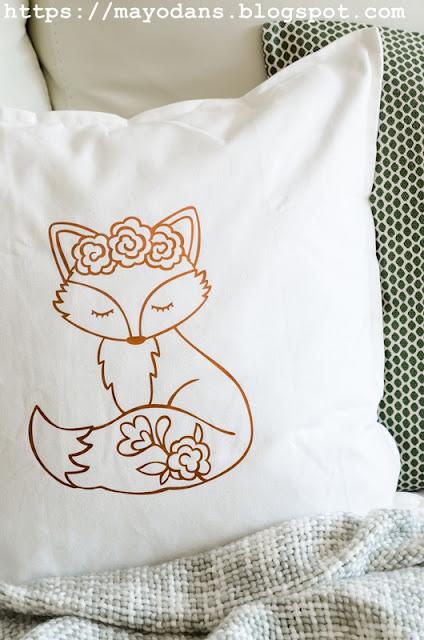 DIY Kissen geplottet