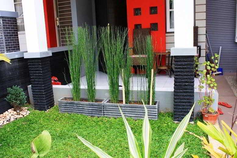 Foto Desain Taman Depan Rumah Minimalis