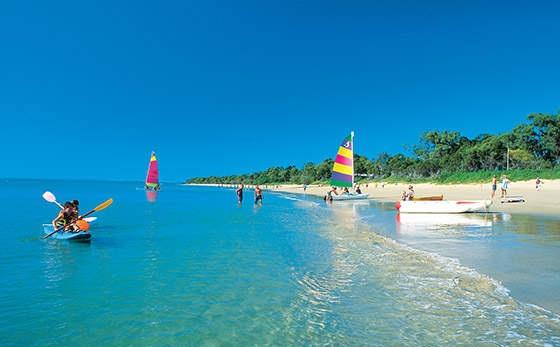 Torquay Beach Hervey Bay Australia