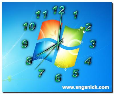 TheAeroClock 4.24 - Еще пример вида часов