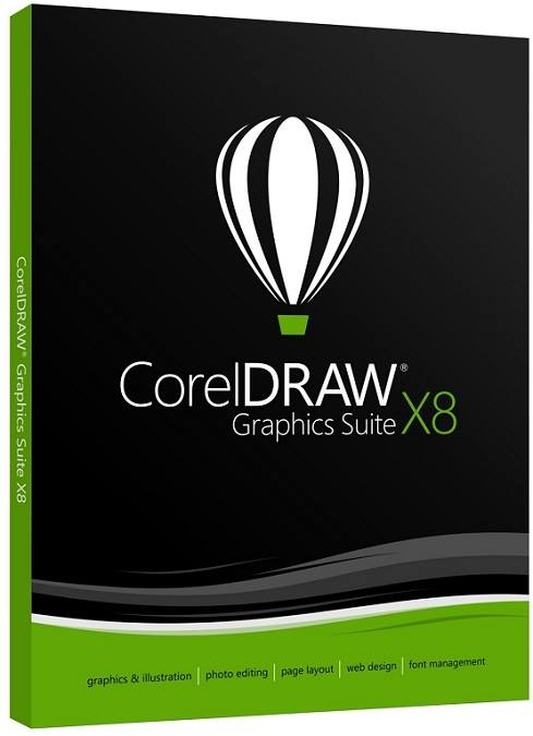 Corel Draw X8 Suit 2017 Free Download
