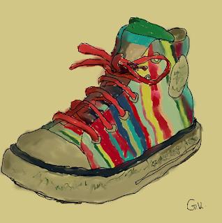рисунка на обувка георги календеров