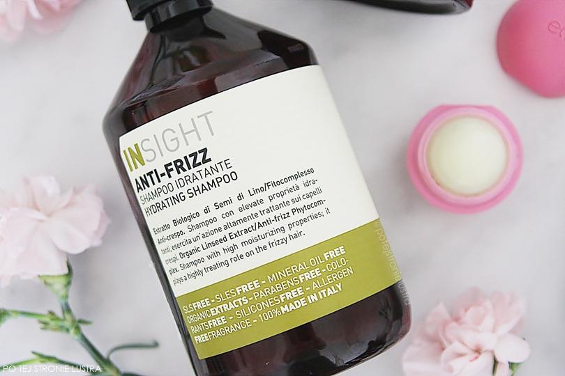 butelka szamponu insight anti-frizz