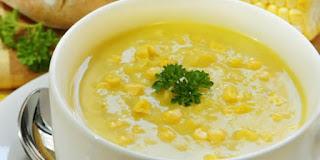 Resep Krim Sup Jagung Sehat dan Lezat