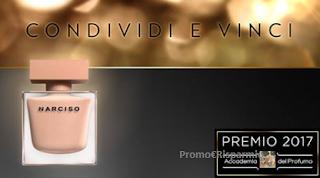 Logo Vinci gratis il profumo Femminile del 2017: Narciso