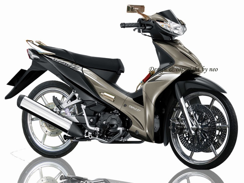 Top modifikasi motor revo absolut
