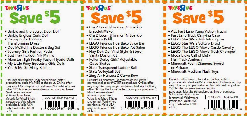 graphic about Lego Printable Coupon named Printable discount codes for toys r us march 2018 / Thick top quality