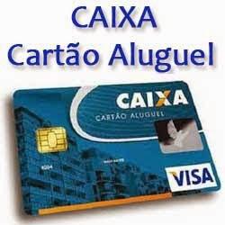 CARTÃO ALUGUEL CAIXA FEDERAL