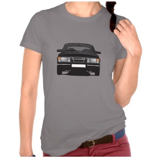 Saab 900 Turbo illustration t-shirt