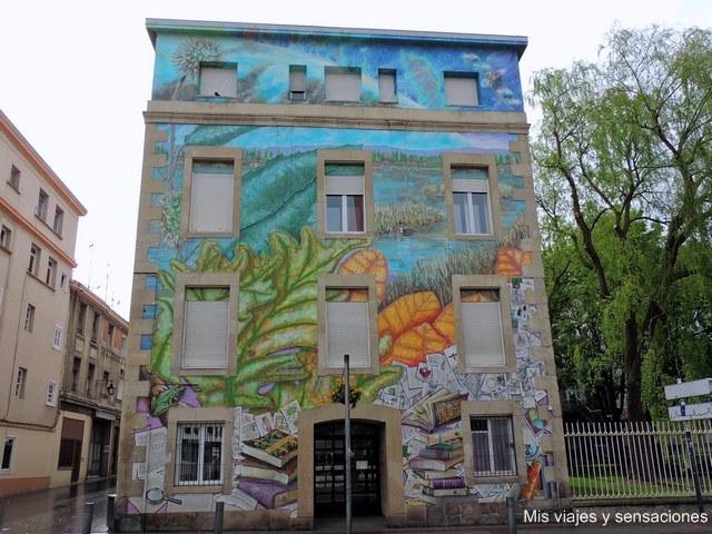 Qué haremos con lo que sabemos, murales de Vitoria, País Vasco