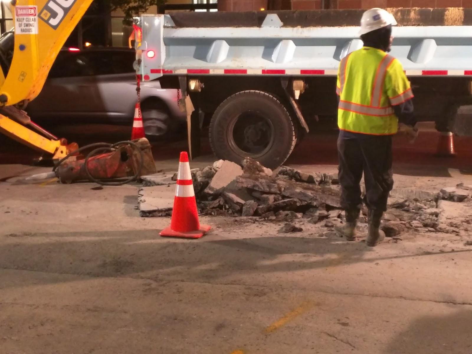 Robert Dyer @ Bethesda Row: Downtown Bethesda water main break wiped ...