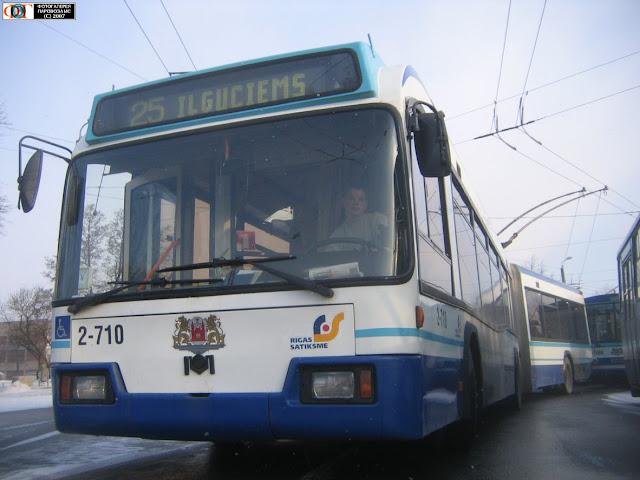 АКСМ-333 в Риге на маршруте №25