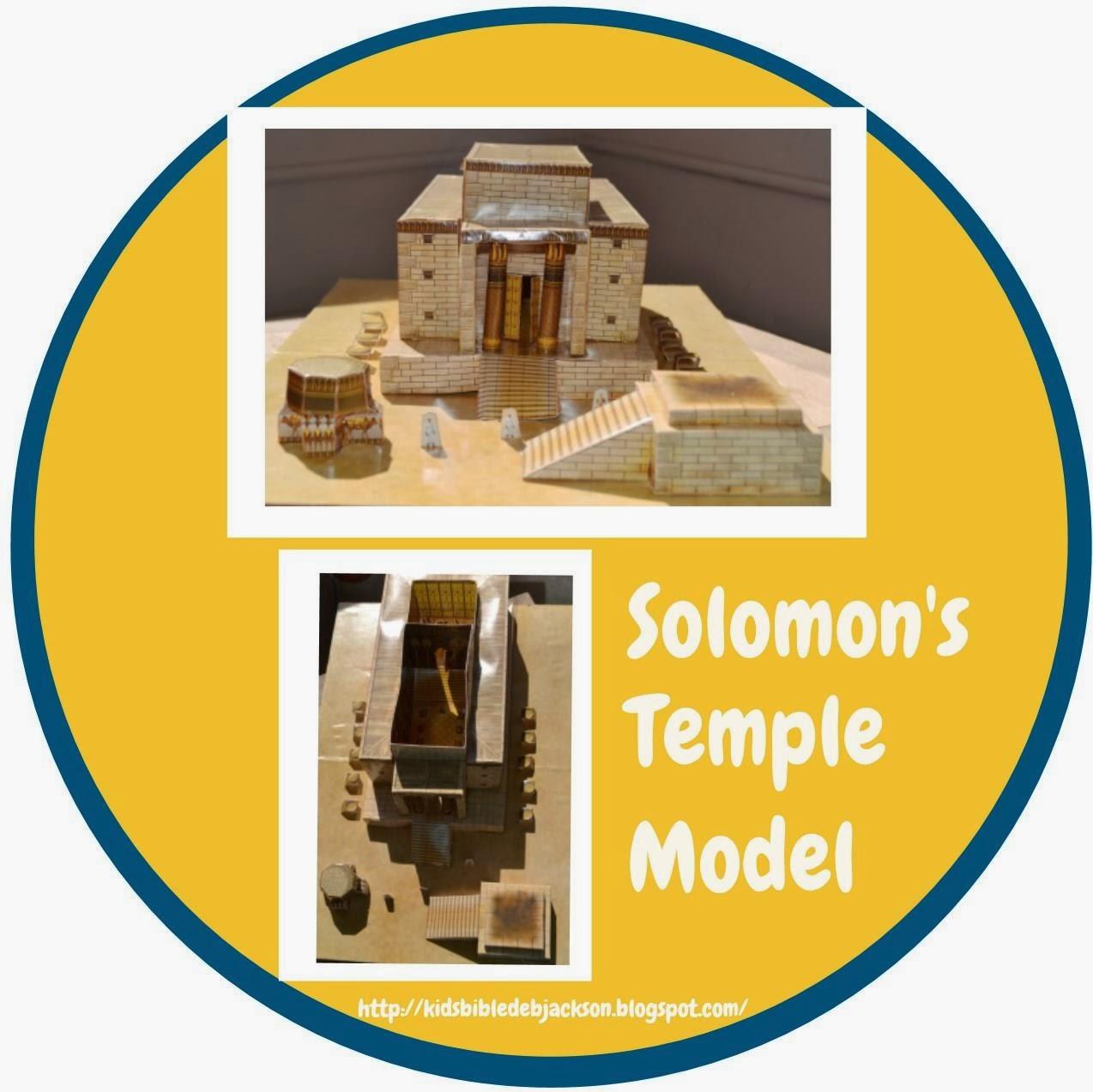 Bible Fun For Kids Solomon Rebuilds The Temple