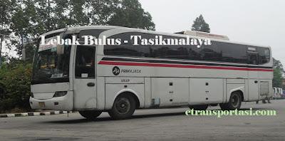 Harga Tiket Bus Primajasa Lebak Bulus - Tasikmalaya