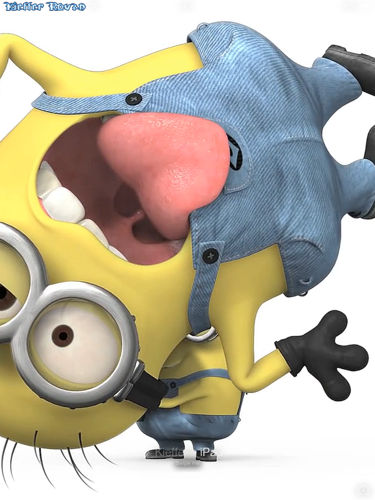 TweakDifferent: Minion Gun Video Wallpaper for iPad Air ...