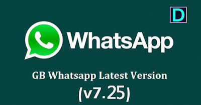 GBWhatsApp APK Latest Version (v7.25) free download (Anti-ban) for Android www.DcFile.com