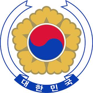 Gambar Lambang negara Korea Selatan