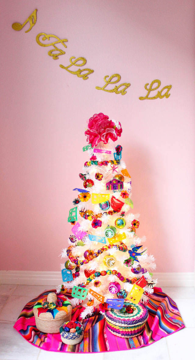 Ideas for Fiesta themed Christmas tree decorations