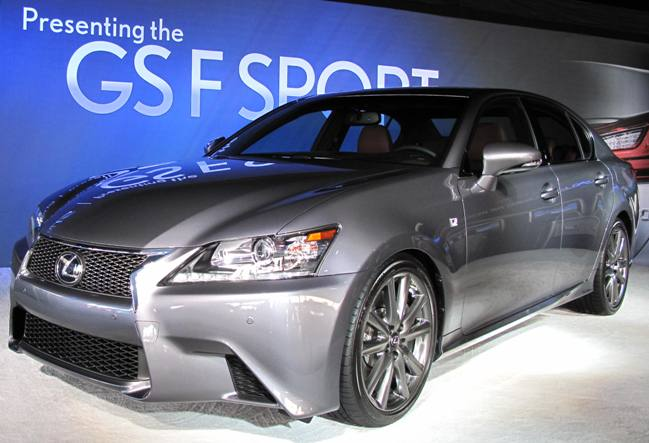 Saxton On Cars Sema 2013 Lexus Gs350 F Sport Unveiled Hits Showrooms In February