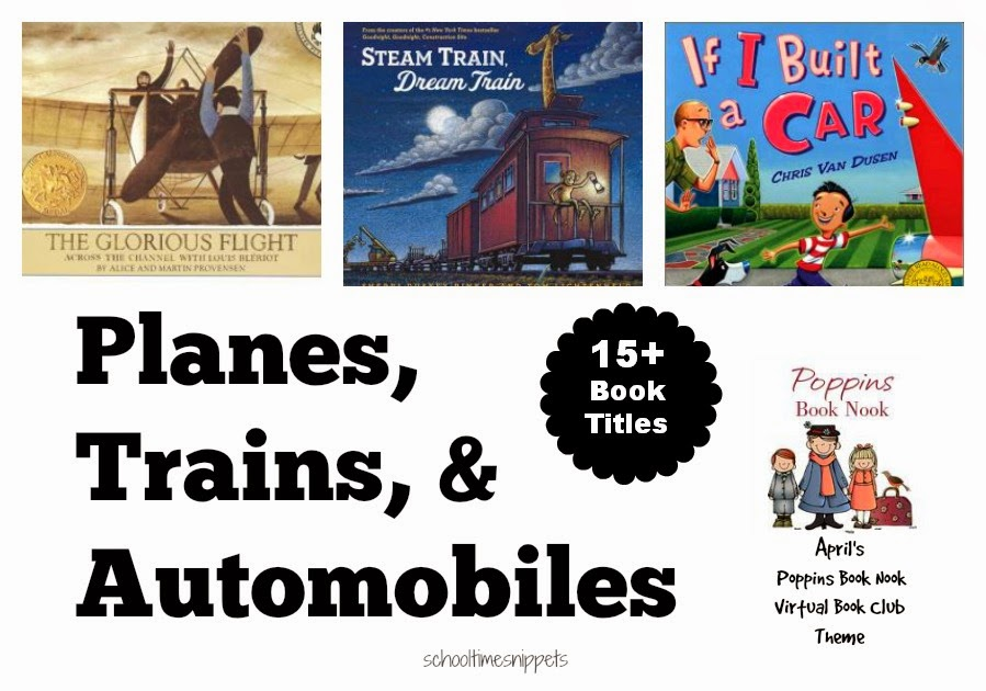 Transportation Books for Kids