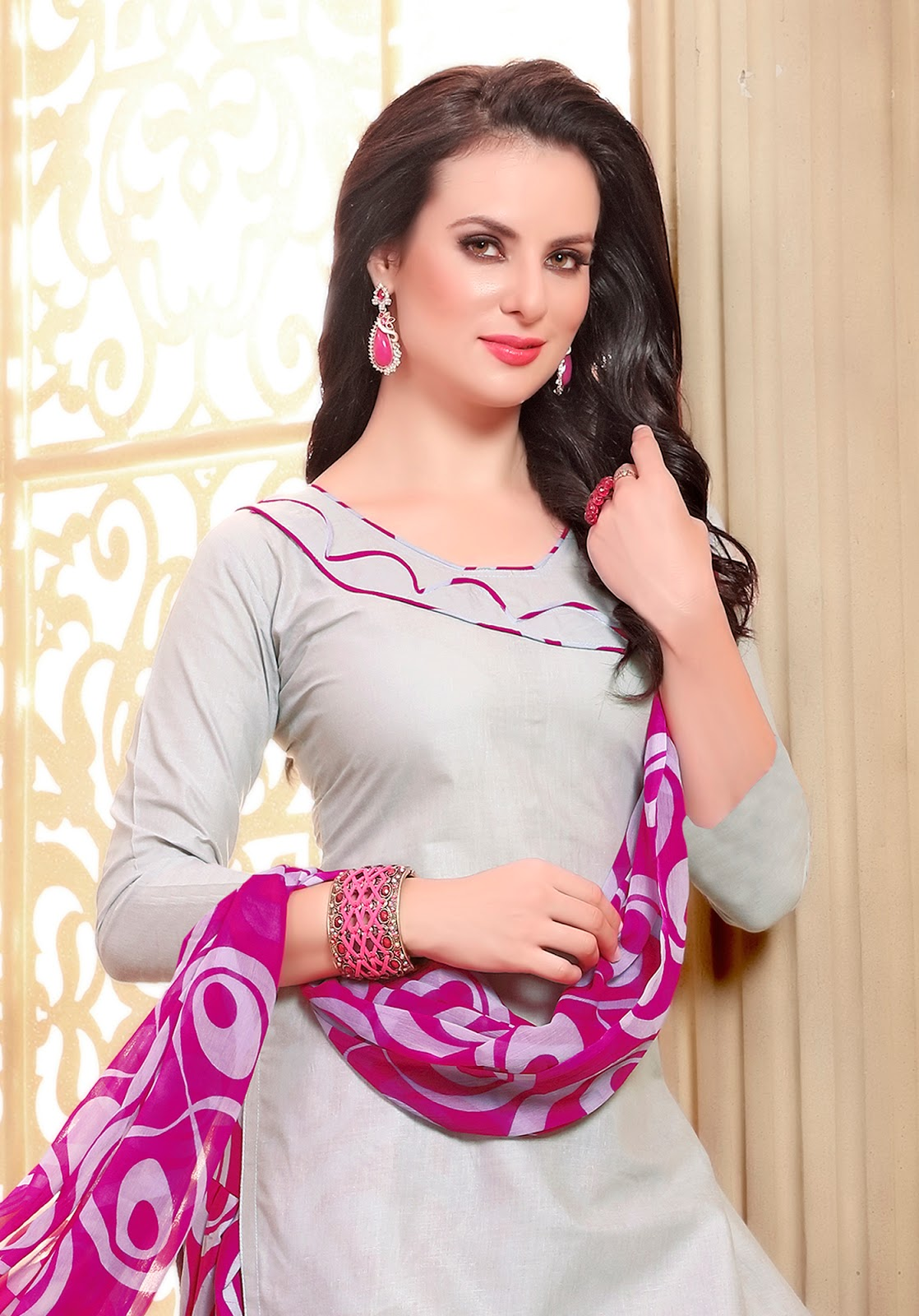 Patiyala 4 – Cotton Print Dress Material Wholesale