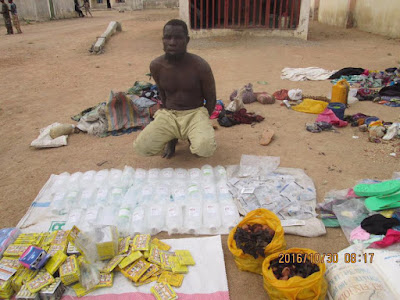 Image result for Army nabs suspected Boko Haram Suppliers