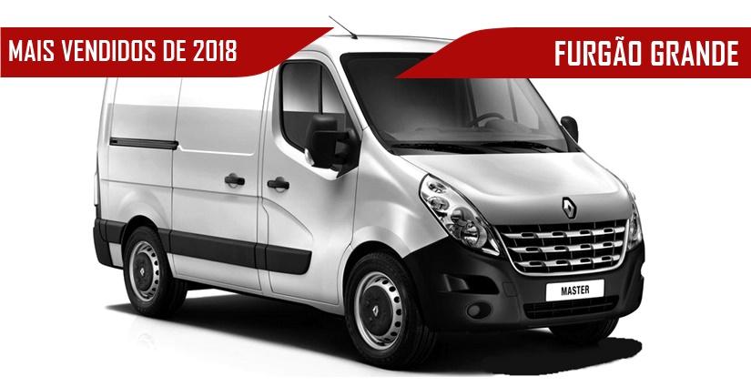 952ff986c Furgões Vans Grandes mais vendidas de 2018  Renault Master lidera mais um  ano