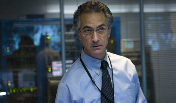 David Strathairn in The Bourne Ultimatum