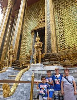 Gran Palacio Real de Bangkok.