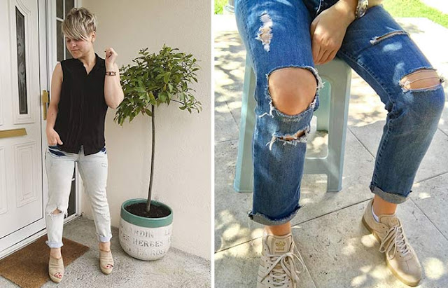 How To Make Ripped Jean - Make Holes