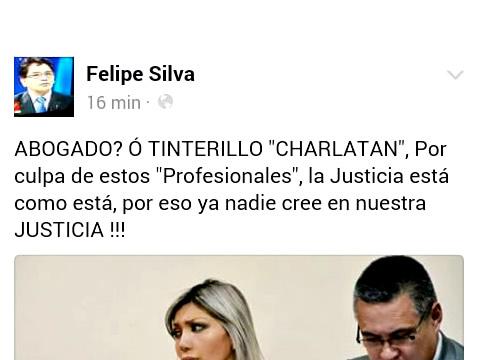 Jorge Silva arremete contra Dr. Leon
