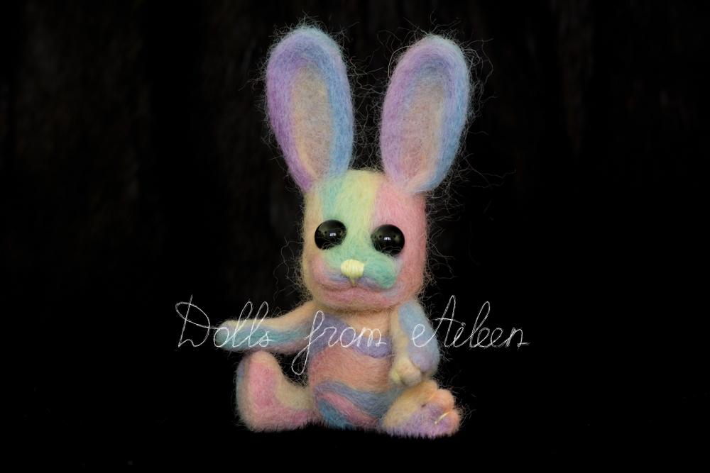 ooak needle felted Easter bunny