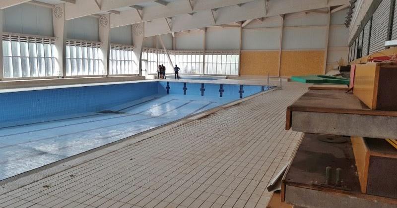 Valle de buelna terminada la estructura de la nueva for Estructura para piscina